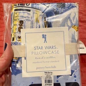 Pottery Barn Kids Empire Strikes Back Pillow Case